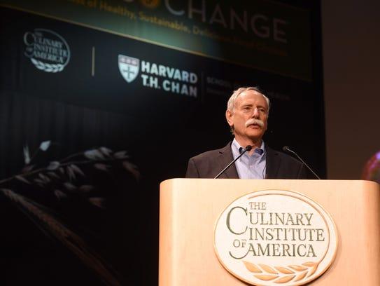 Walter Willett, Dr.P.H., professor at Harvard T.H.