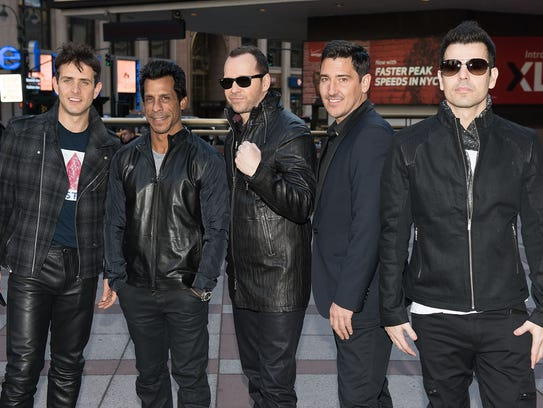 New Kids on the Block, pictured in 2015: Joey McIntyre