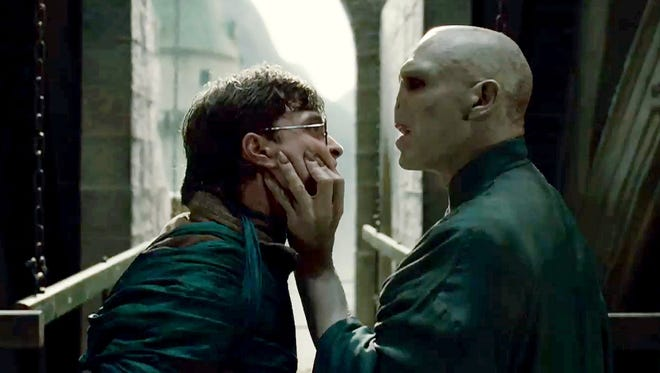 """A scene from """"Harry Potter and the Deathly Hallows - Part 2."""""""