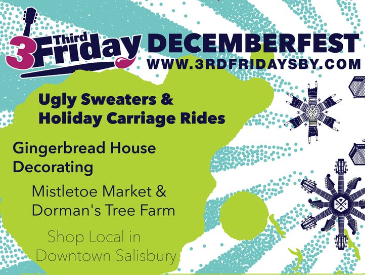 In downtown Salisbury, all the fun is moving indoors