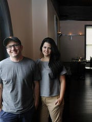 Tony and Caroline Galzin, former owners of  Fifty First