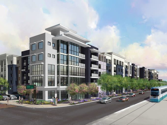 Lennar Multifamily Communities is building a five-story