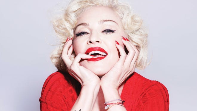 """This CD cover image released by Interscope Records shows """"Rebel Heart,"""" the latest release by Madonna."""