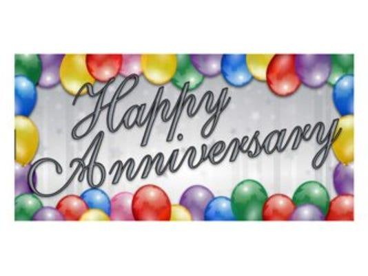Anniversaries: Wayne Cooley Sutherland & Frances Cooley Sutherland