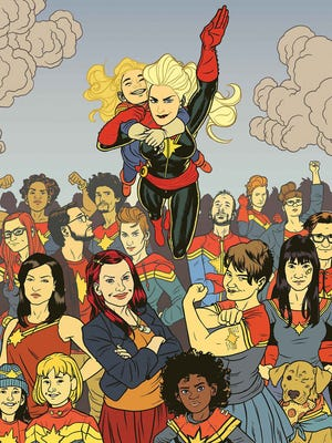 On and off the page, Kelly Sue DeConnick's Captain Marvel has garnered a loyal following.