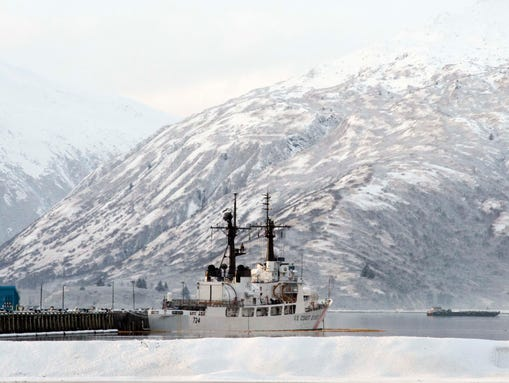 Two weeks after the Coast Guard cutter Munro returned
