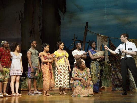 """The company of """"The Book of Mormon."""""""
