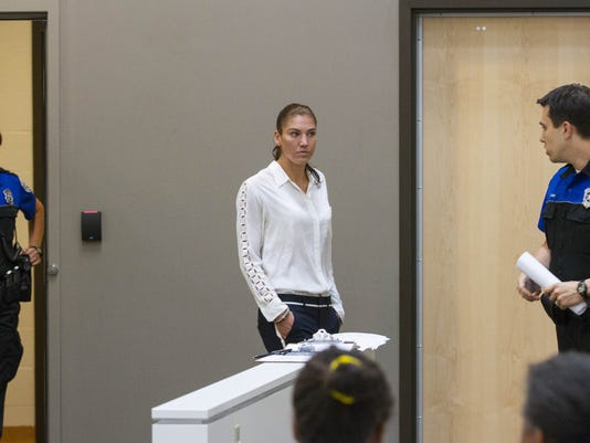 Hope Solo-Arrest