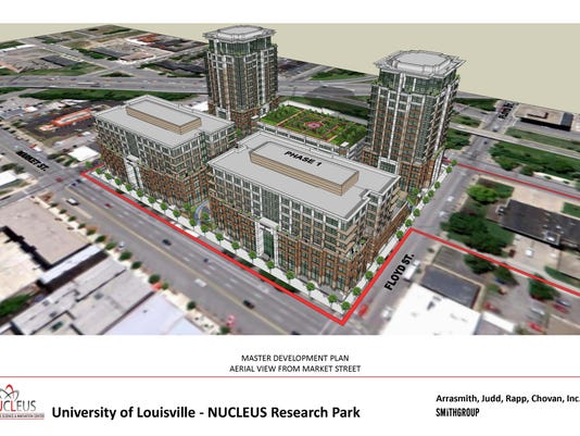life sciences research park rendering