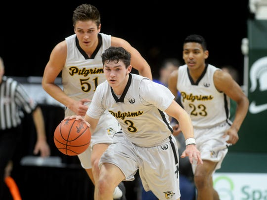 Matt Havey was an AP first team Class D all-state selection and helped the Pilgrims to league, district and regional titles.