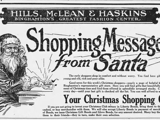 A McLean's ad that encourages the spending of Liberty