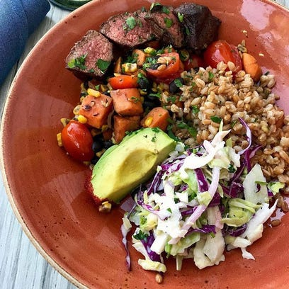 Farm and Craft's Tocoa steak bowl.
