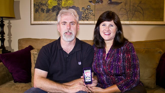 Roger Pingleton and Jill Beitz, founders of StreamSide Software, said they recently used their  Spirit Story Box app to hunt for ghosts at a Richmond museum.
