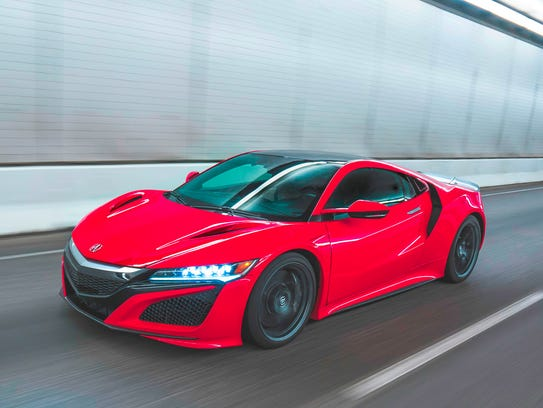 VIN 001 2017 Acura NSX