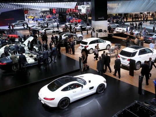 Detroit Auto Show Opens To Public At Cobo Center