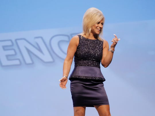 Medium Theresa Caputo brought her TLC show Long Island Medium on the road to El Paso Wednesday night at the Don Haskins Center. Caputo said she's had the gift of communicating with the dead since she was a young child.