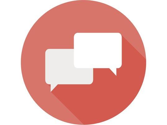 Communication Circle Flat Icon