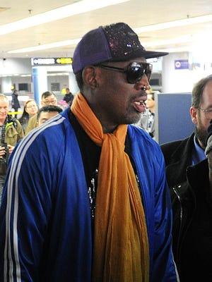 Dennis Rodman returned from North Korea last week.