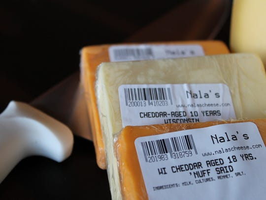 Aged cheddar is just one of many dairy delicacies that can be found in the area.