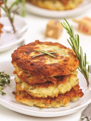 Latkes have different names among the sects of Judaism, but they're essentially fried potato pancakes.