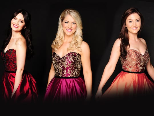 Celtic Woman is, from left, Tara McNeill, Máiréad Carlin,