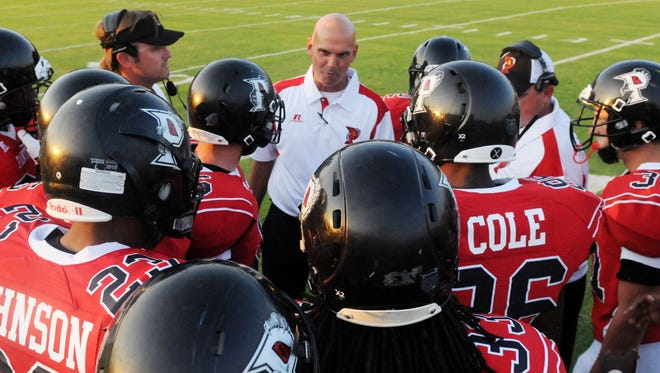 Parkway coach David Feaster led his team to a win over Southwood on Friday night.