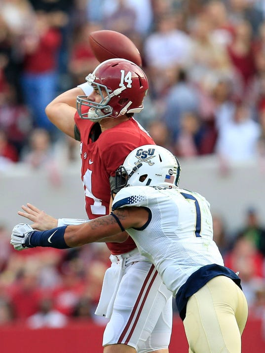 NCAA Football: Charleston Southern at Alabama