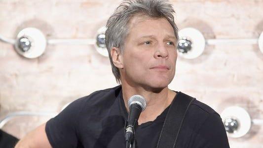 """Jon Bon Jovi: The """"Turn Back Time"""" man for DirecTV."""