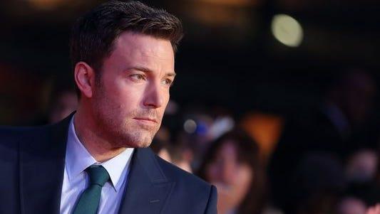 Ben Affleck will direct his first Batman movie.