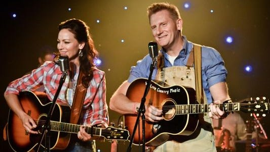Joey Feek (left), 40, country singer of Joey + Rory