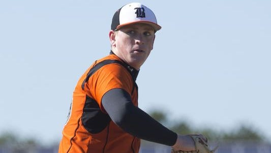 Greenville Drive manager Darren Fenster, a Middletown native, has been impressed with what he's seen from Barnegat lefthander Jason Groome.