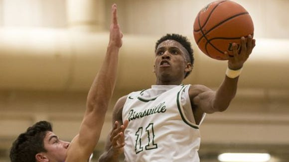 Zionsville's Isaiah Thompson led the Eagles to a win