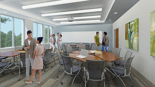 The University of Evansville will start renovating Hyde Hall next May.