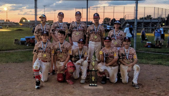 The Athletics 13U won the Midwest Marlins Frozen Rope Classic in Columbus this past weekend.