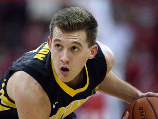 NCAA Basketball: Iowa at Wisconsin