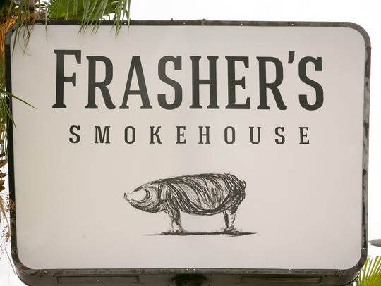 Frasher's Smokehouse took over the old space of Chuy's