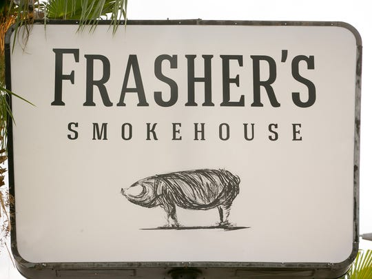 Frasher's Smokehouse took over the old space of Chuy's Mesquite Broiler at Indian School and 32nd Street in Phoenix.