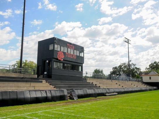Clark Field at Technical High School shown Saturday,