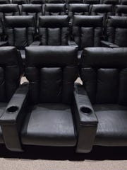 The Cube near Rehoboth Beach is outfitted with 199 plush, high-back recliners.