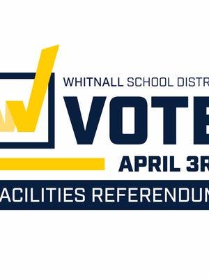 Whitnall School District referendum logo