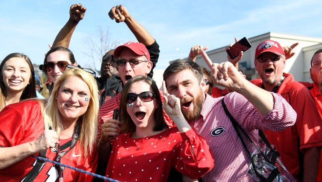 Georgia Bulldogs fans crashed StubHub's ticket sales site after the Bulldogs earned a spot in the college football title game.