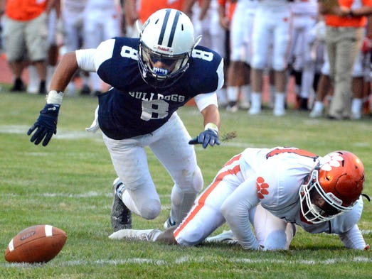 West York's Justin Wetzel hustles for a loose ball