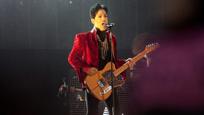 Prince on August 9, 2011, in Budapest.