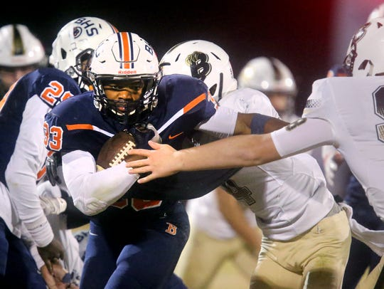 Blackman's Master Teague is No. 5 on this year's Tennessean