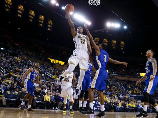 NCAA Basketball: Coppin State at Michigan