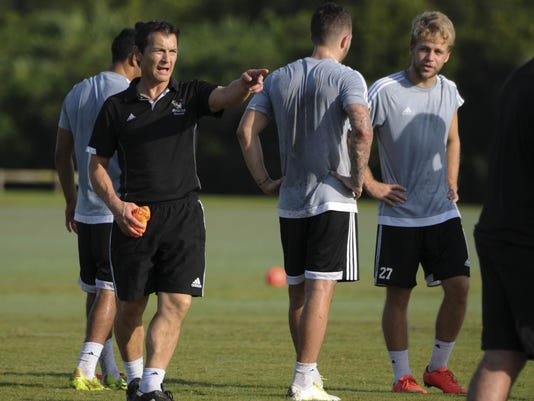 Florida Tech Mens Soccer Practice