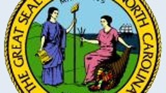 The North Carolina state seal