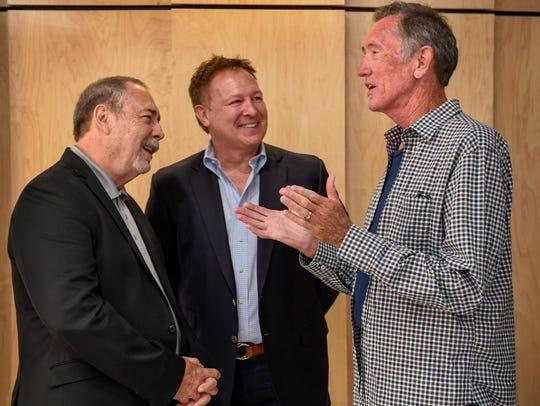 Jim McBride, Tim Nichols and Walt Aldridge share stories