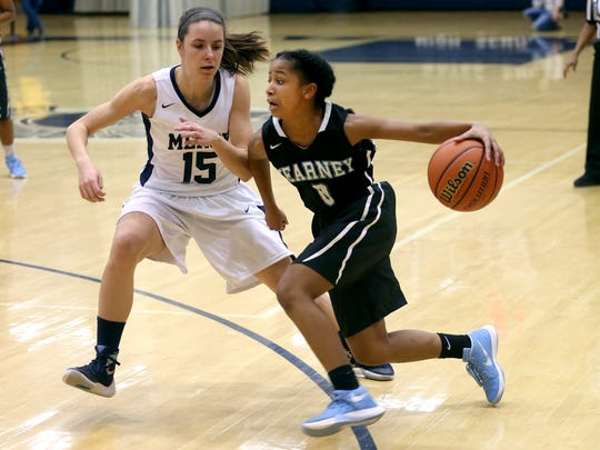 Bishop Kearney's Marianna Freeman received multiple votes in both the best shooter and best ball-handler categories along with top guards in voting by area coaches this winter.