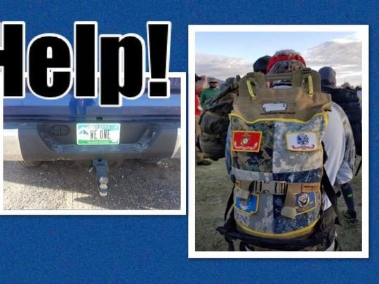 The Montana Vet Program Pig Egg, a backpack with the dog tags of veterans who died in Iraq and Afghanistan is among the items stolen from Eagle Mount Great Falls on the 4th of July.